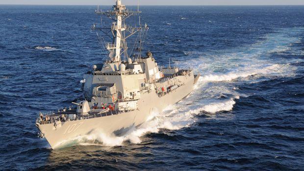 Die USS Gravely ist ein Zerstörer der United States Navy und gehört der Arlei...