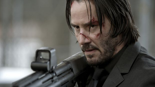 John Wick (Keanu Reeves) eilt ein Ruf voraus, der alle bösen Buben schon bei...