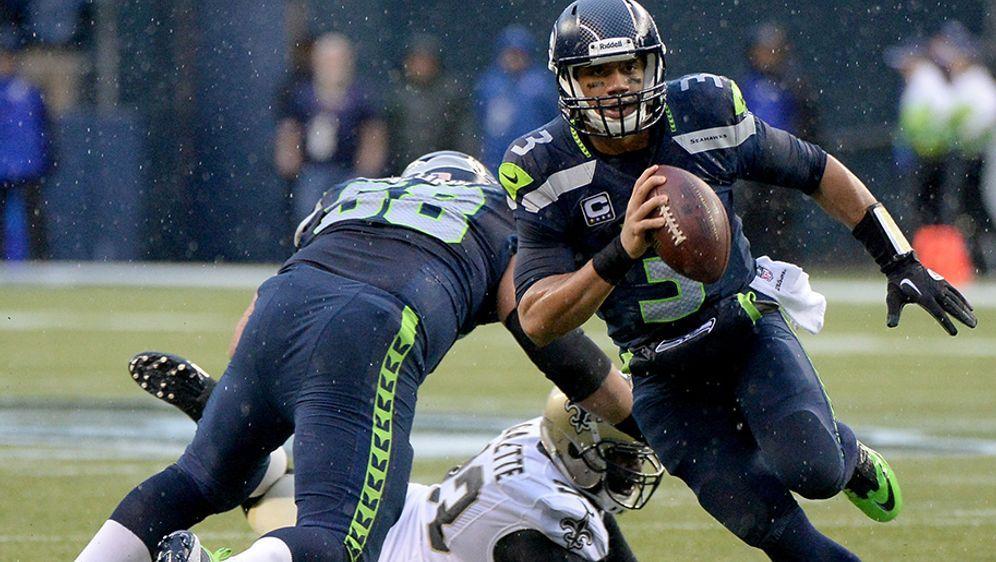 Dreh- und Angelpunkt der Pass- und Lauf-Offensive: Quarterback Russell Wilso... - Bildquelle: 2014 Getty Images