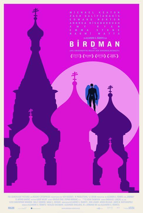Birdman-Plakat-Moscow-20th-Century-Fox - Bildquelle: TWENTIETH CENTURY FOX
