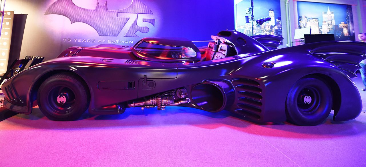 Batmobil-Batman-Returns-AFP - Bildquelle: AFP
