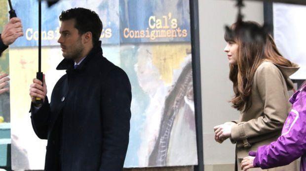 """Fifty Shade of Grey 2"" mit Jamie Dornan: Nervt Dakota Johnson Co-S..."