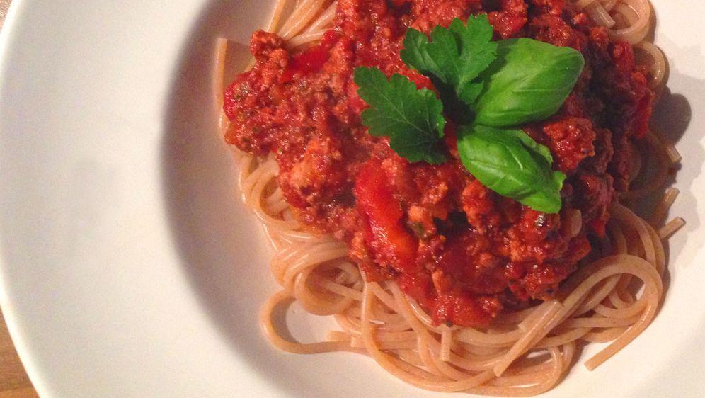 Spaghetti mit Tofubolognese