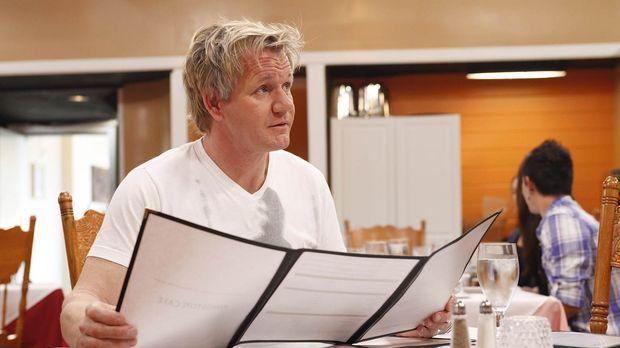 Gordon Ramsay möchte den Besitzern des Kingston Cafés helfen, denn sonst könn...