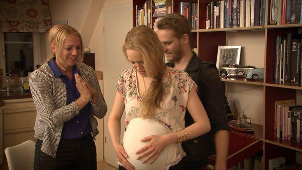Schicksale - Kein-bisschen-schwanger-Bild1 - Bildquelle: SAT.1