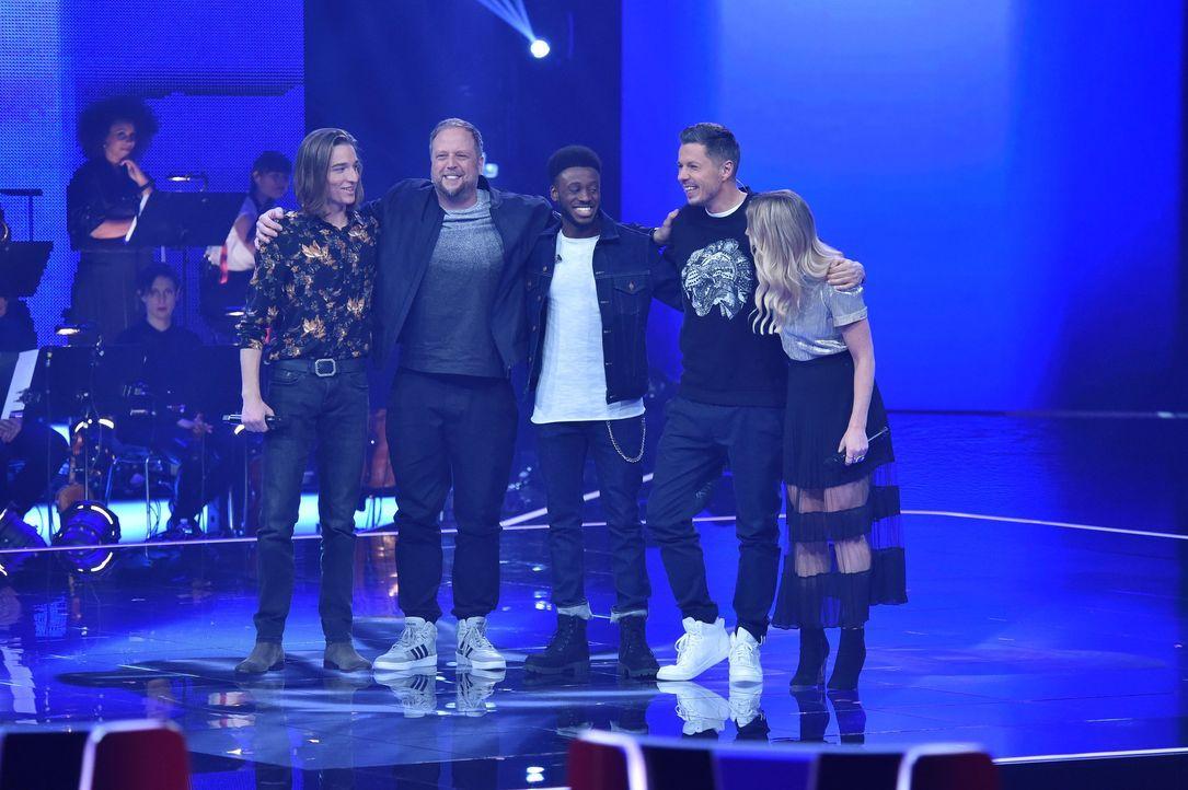 TVOG2018_Halbfinale_Eros,Smudo,Clifford,Michi,Coby - Bildquelle: ProSieben/SAT.1/Andre Kowalski