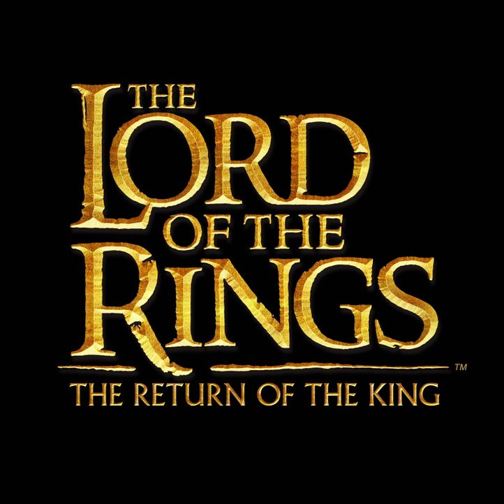 """The Lord of the Rings: The Return of the King"" - Originaltitel-Logo ... - Bildquelle: Warner Bros."