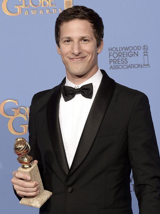 Golden-Globe-Andy-Samberg-14-01-12-getty-AFP - Bildquelle: getty-AFP