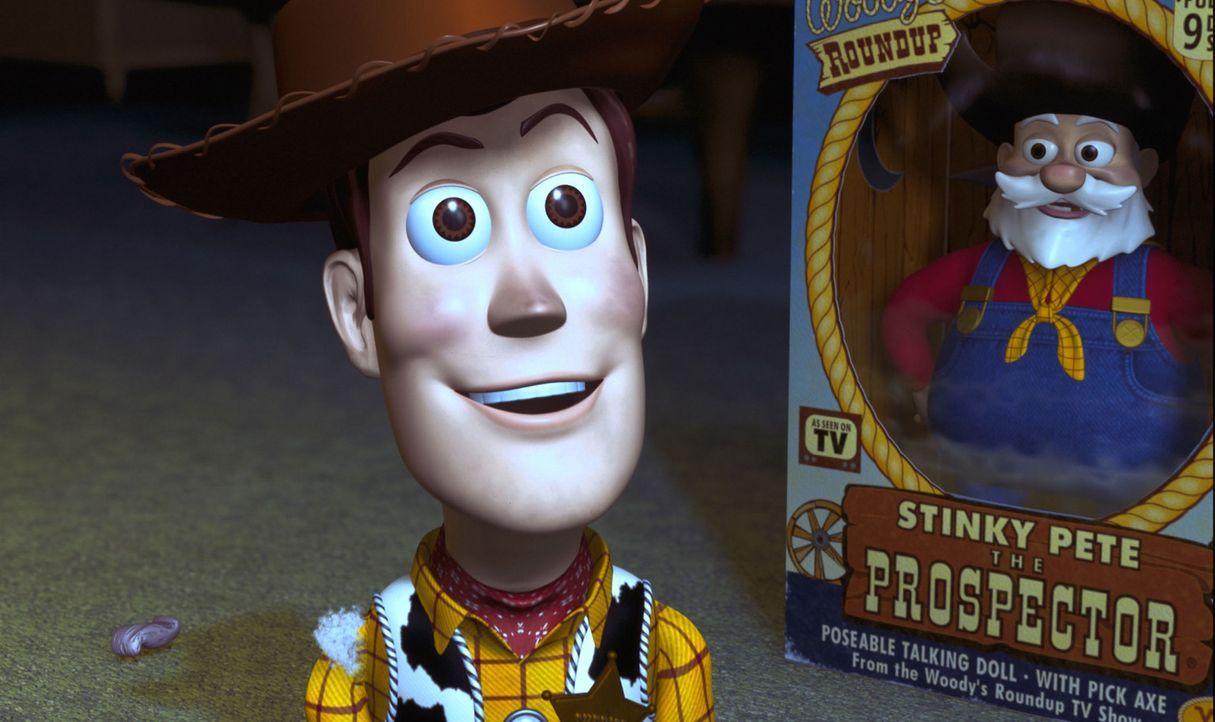 Seine neuen Freunde, das Cowgirl Jessie und der Goldgräber Stinky Pete, erklären Woody (Bild), dass sie einst zusammengehörten und sogar eine eigene... - Bildquelle: Buena Vista International Television