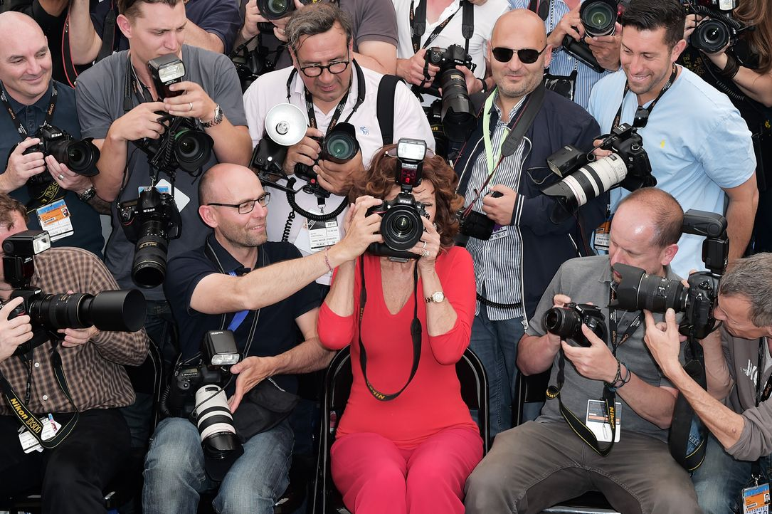 Cannes-Filmfestival-Sophia-Loren-140521-2-AFP - Bildquelle: AFP