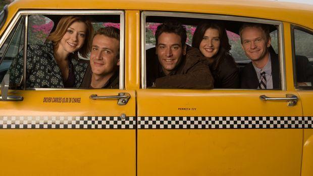 (2. Staffel) - Wie es früher war: Das Leben von Ted (Josh Radnor, M.) und sei...