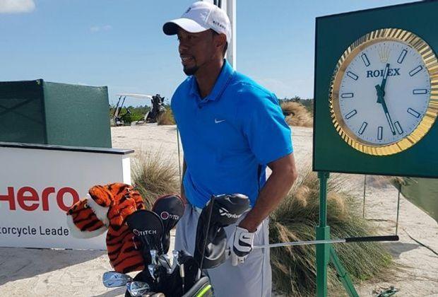 Tiger Woods bei Comeback mit einer 73er-Runde