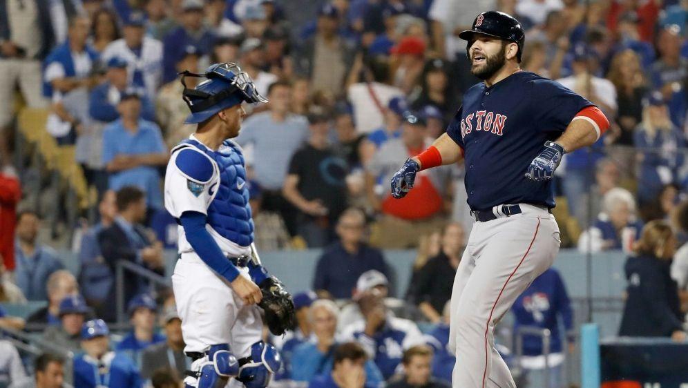 Drei Matchbälle für die Boston Red Sox - Bildquelle: GETTY AFPSIDSean M. Haffey