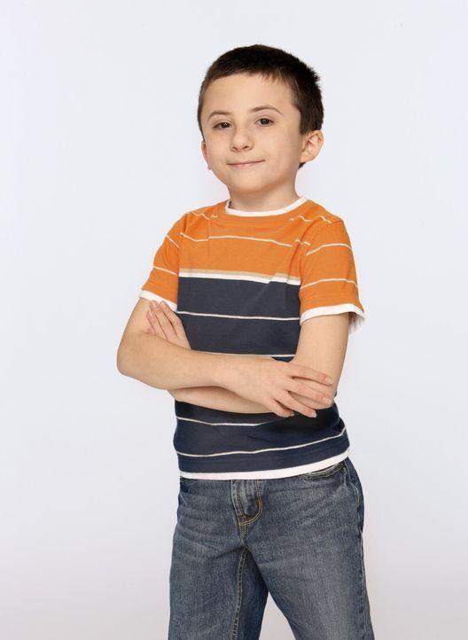 (1. Staffel) - Brick (Atticus Shaffer) ist das jüngste Kind von Frankie und Mike. Er ist äußerst intelligent, hat aber Schwierigkeiten, normal mit K... - Bildquelle: Warner Brothers