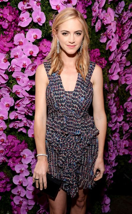 BVLGARI-Pre-Oscar-Party-Emily-Wickersham-15-02-17-getty-AFP - Bildquelle: getty-AFP