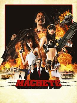 Machete - MACHETE - Plakatmotiv - Bildquelle: 2010 Machete's Chop Shop, Inc....