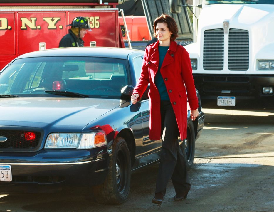 Noch weiß Kate Beckett (Stana Katic) nicht wirklich, was sie auf der Baustelle erwartet ... - Bildquelle: ABC Studios