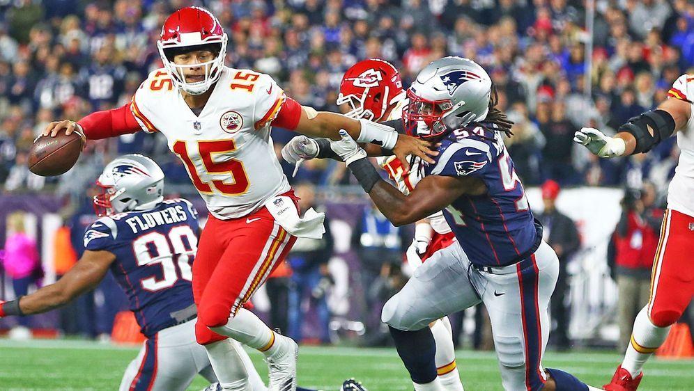 10efe28d8 NFL  New England Patriots bezwingen Kansas City Ch