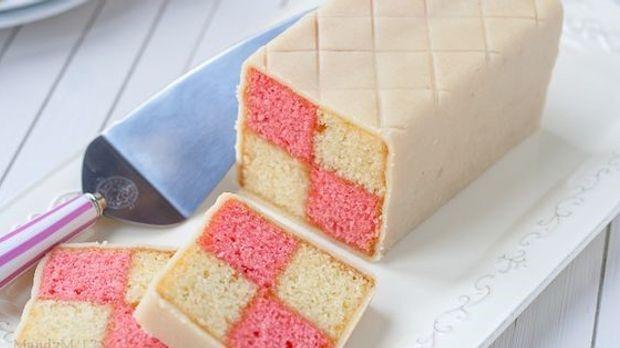 Bettina schliephake burchhardts battenberg kuchen for Kuchen zusammenstellen programm