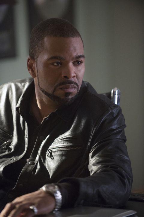 Verheimlicht Lucky the King (Method Man) etwas? - Bildquelle: Neil Jacobs 2014 CBS Broadcasting, Inc. All Rights Reserved