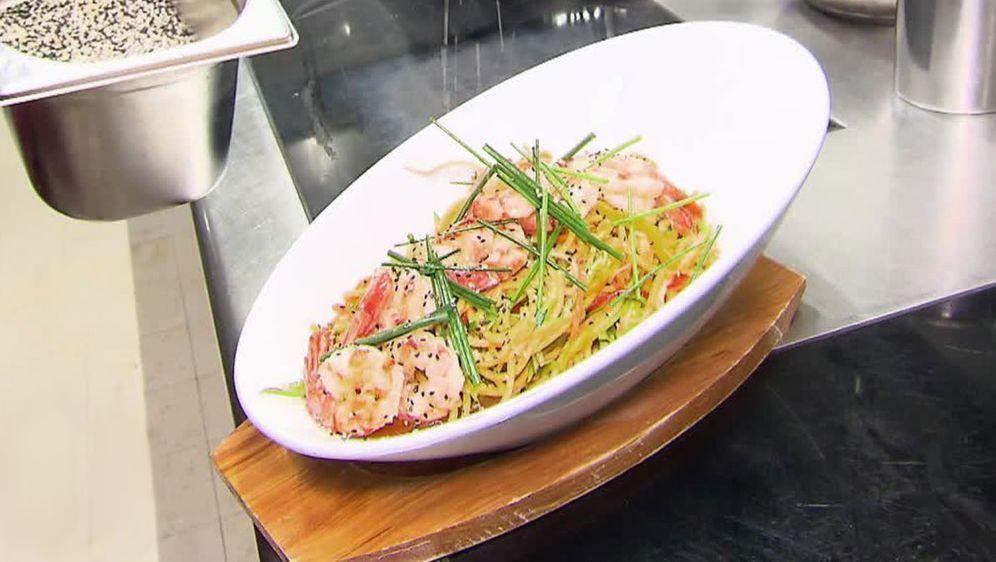 Hausgemachte Spaghetti alla Chitarra