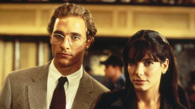 Der blutjunge Verteidiger Jake Brigance (Matthew McConaughey, l.) übernimmt d...