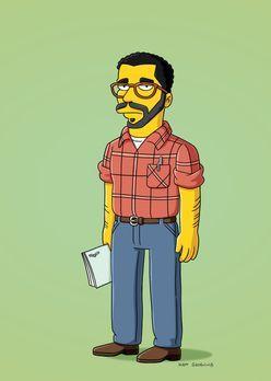 Die Simpsons - Drehbuchautor David Mamet - Bildquelle: und TM Twentieth Centu...