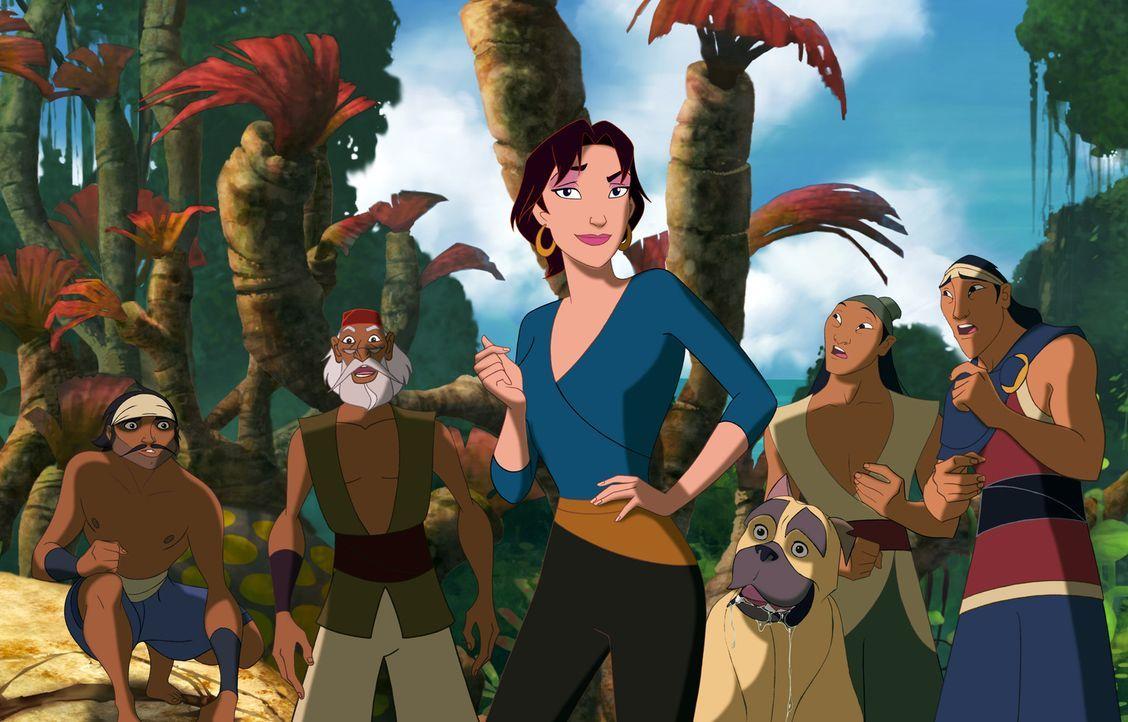 Die wunderschöne Marina schleicht sich als blinder Passagier auf Sinbads Schiff. Sie will dafür sorgen, dass Sinbad seine Mission erfüllt und dam... - Bildquelle: DreamWorks SKG