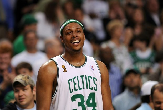 2008 NBA-Champion mit den Boston Celtics: Paul Pierce