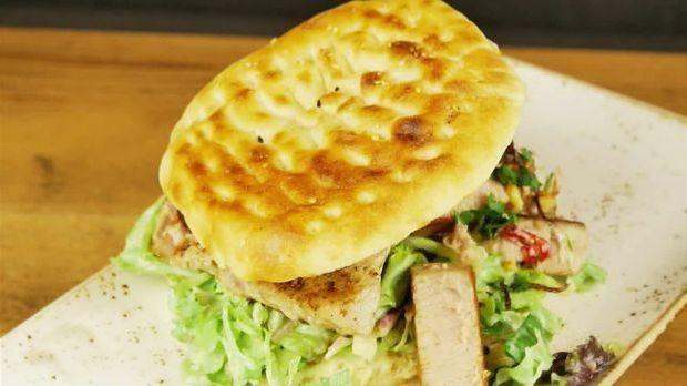 Jamaica-Burger