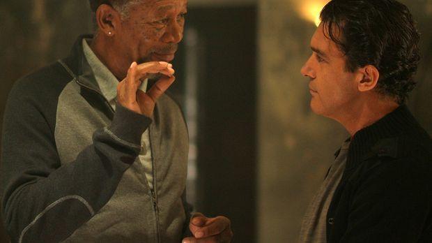The Code - Vertraue keinem Dieb - Kunstdieb Ripley (Morgan Freeman, l.) brauc...