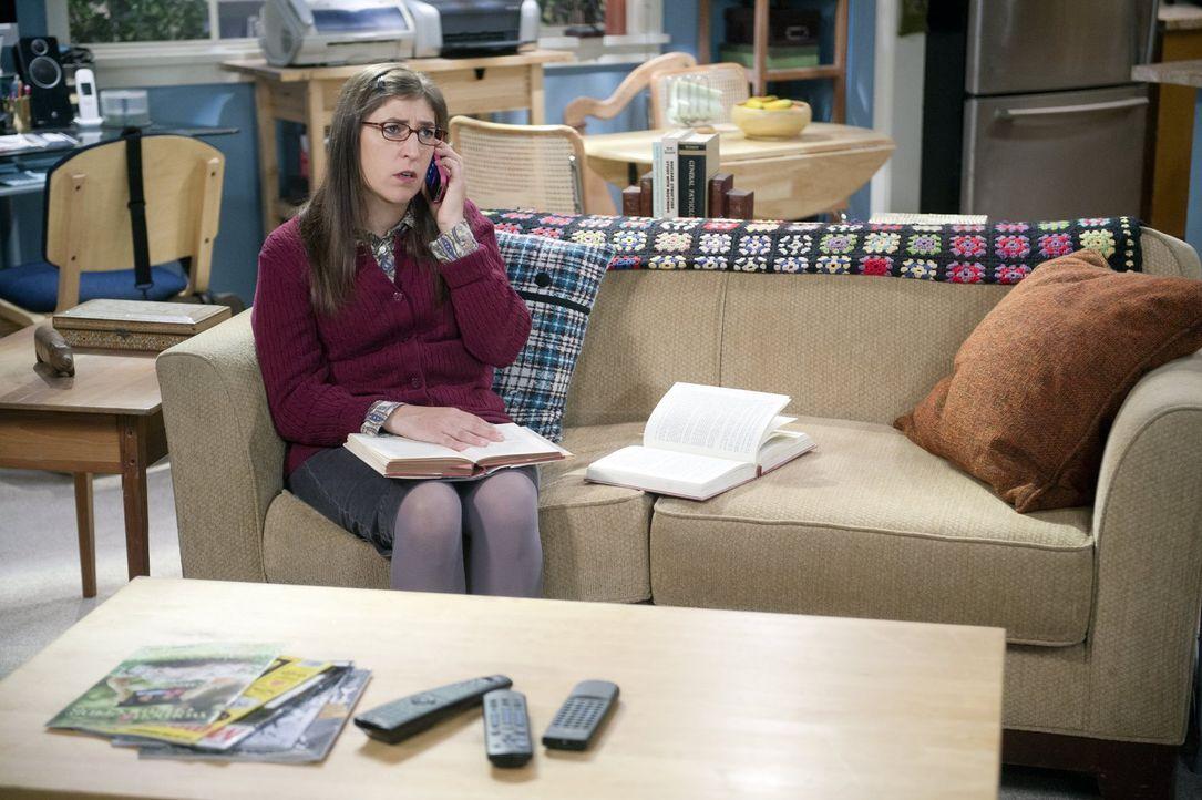 Als Sheldon Amy (Mayim Bialik) zum wiederholten Male beleidigt, beendet sie die Beziehung endgültig ... - Bildquelle: Warner Brothers