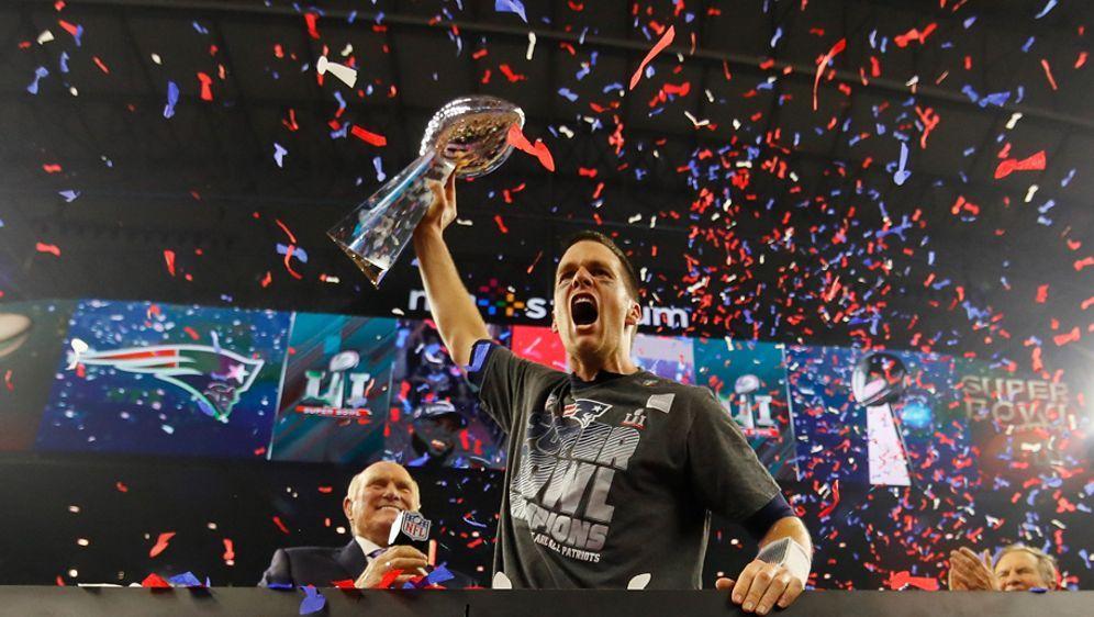Tom Brady - Jubelt er dieses Jahr wieder? - Bildquelle: 2017 Getty Images