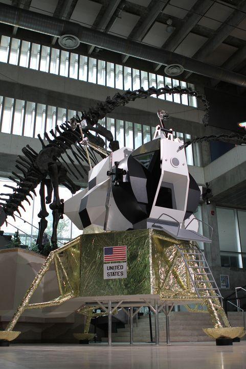 Von den Treppen der Titanic bis zur Mondlandefähre von Apollo 13: Das Team von Creative Arts arbeitet an den coolsten Exponaten der Welt ... - Bildquelle: 2014 A&E TELEVISION NETWORKS, LLC.