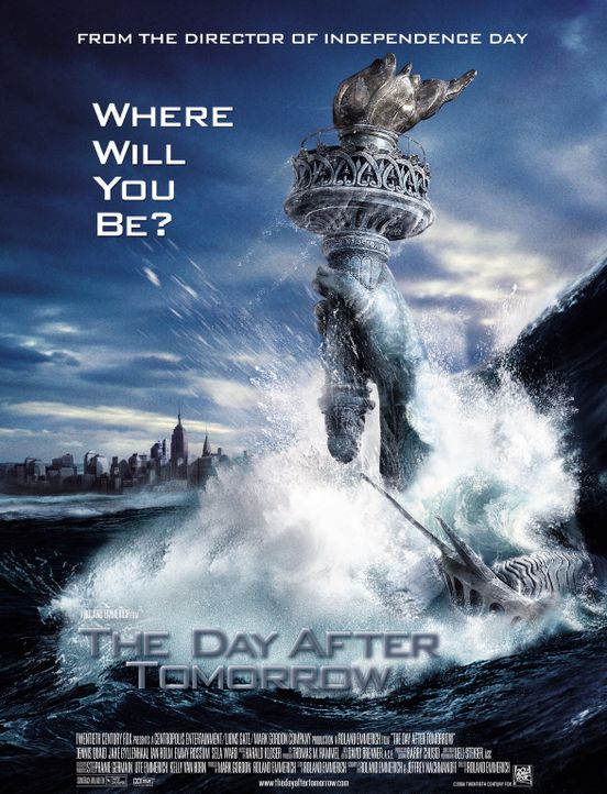 The Day after Tomorrow - Plakat - Bildquelle: 2004 Twentieth Century Fox Film Corporation. All rights reserved.