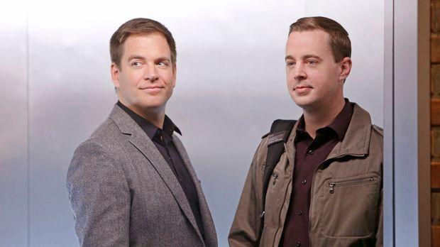 Auf der Jagd nach Parsa: McGee (Sean Murray, r.) und DiNozzo (Michael Weather...