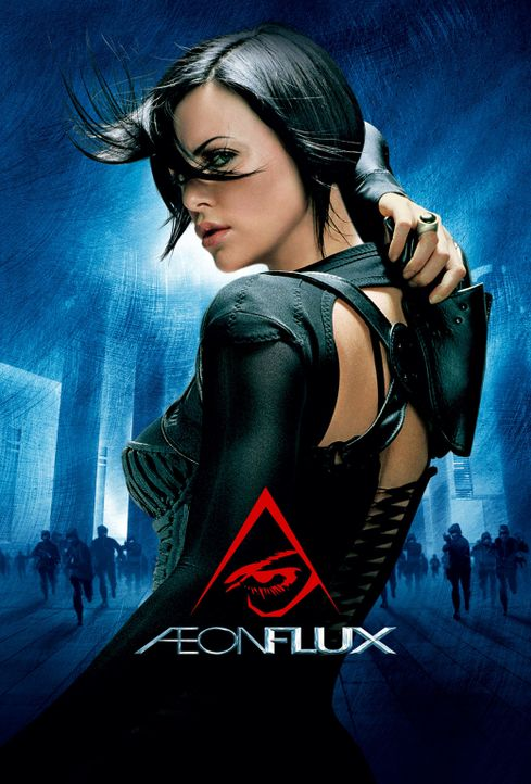 Aeon Flux - Plakatmotiv - Bildquelle: 2004 by PARAMOUNT PICTURES. All Rights Reserved.