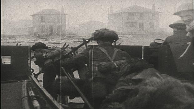 Die Landung der Alliierten im Juni 1944 markiert den entscheidenden Schritt z...