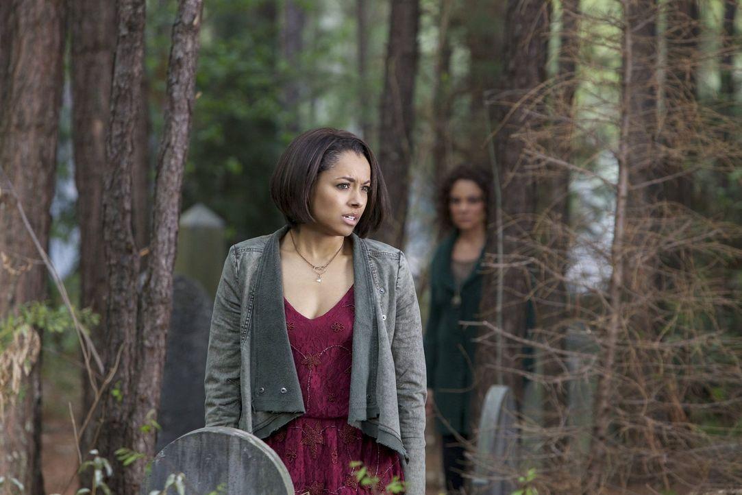 Die andere Seite zerfällt immer weiter. Doch welche Auswirkungen wird es für Bonnie (Kat Graham) haben, wenn sie versucht, alle von der anderen Seit... - Bildquelle: Warner Brothers
