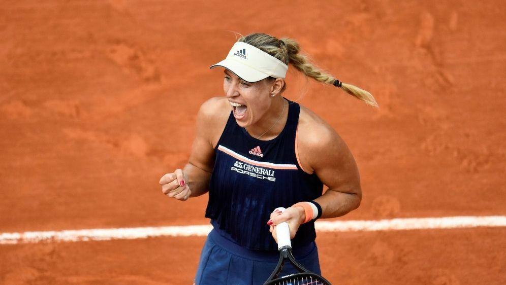 Kerber zieht ins Viertelfinale der French Open ein - Bildquelle: AFPSIDCHRISTOPHE SIMON