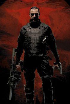 Punisher: War Zone - PUNISHER: WAR ZONE - Artwork - Ex-Special Forces-Offiice...