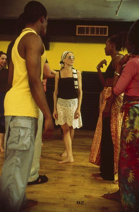 Carrie (Sarah Jessica Parker) tanzt sich den Alltgasstrees von der Seele. - Bildquelle: Paramount Pictures
