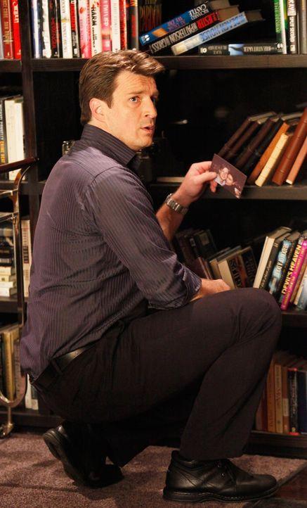 Castle (Nathan Fillion) schwelgt in Erinnerungen an eine verflossene Liebe ... - Bildquelle: ABC Studios