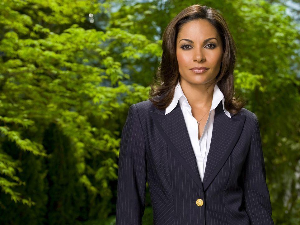 (2. Staffel) - Vertreterin des D.O.D., des Amerikanischen Verteidigungsministeriums: Allison Blake (Salli Richardson) ... - Bildquelle: Universal Television