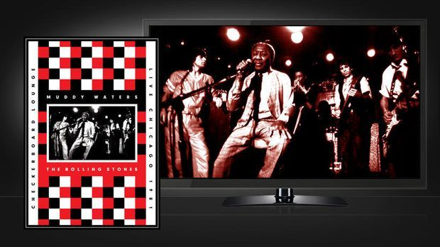 Muddy Waters and The Rolling Stones: Blu-ray-Cover und Szenenbild