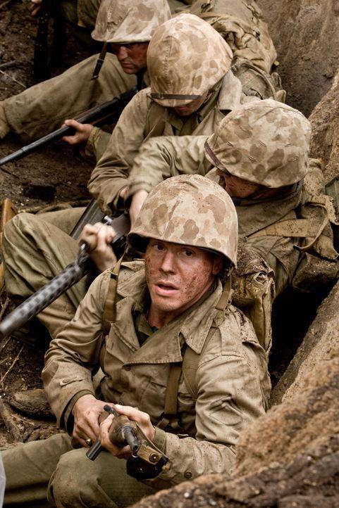 Als die japanischen Streitkräfte erkennen, dass sie die überlegenen amerikanischen Angreifer in einem offenen Kampf nicht aufhalten kann, verschanze... - Bildquelle: Home Box Office Inc. All Rights Reserved.
