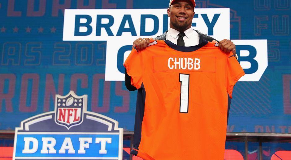 5. Pick - Denver Broncos: DE Bradley Chubb - Bildquelle: getty
