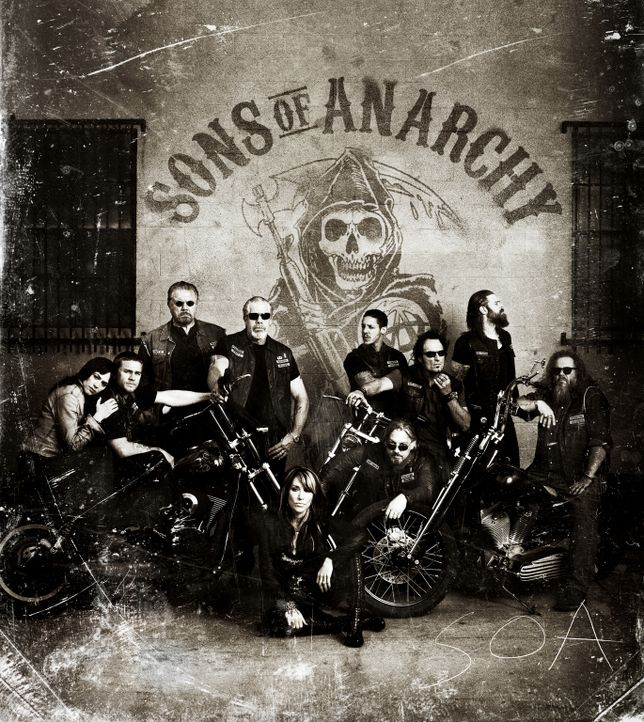 (4. Staffel) - SONS OF ANARCHY - Plakat - Bildquelle: 2011 Twentieth Century Fox Film Corporation and Bluebush Productions, LLC. All rights reserved.