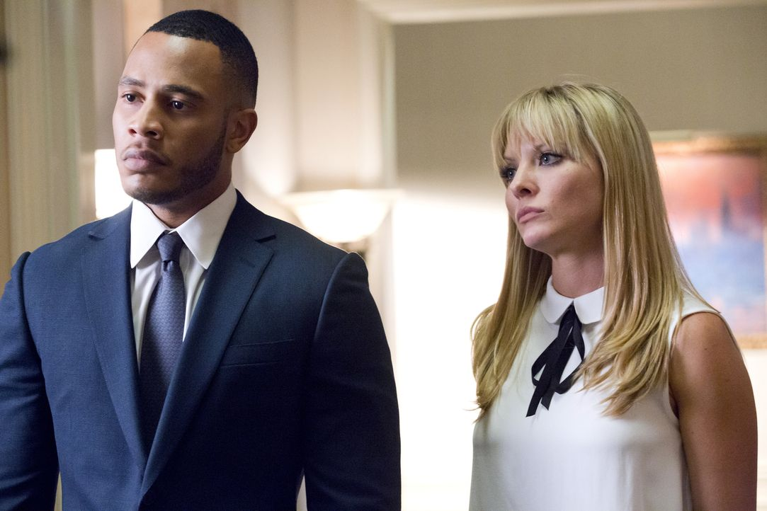 Mit allen Mitteln, wollen sie Lucious von der Spitze bei Empire vertreiben: Andre (Trai Byers, l.) und seine Frau Rhonda (Kaitlin Doubleday, r.) ... - Bildquelle: 2015-2016 Fox and its related entities.  All rights reserved.