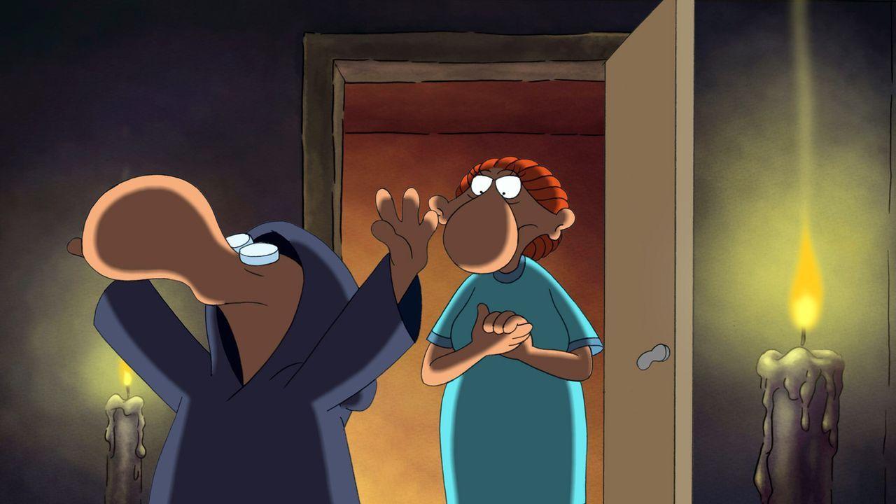 Seine Mutter ist sich sicher: Das kleine Arschloch führt etwas im Schilde ... - Bildquelle: 2006 Senator Film